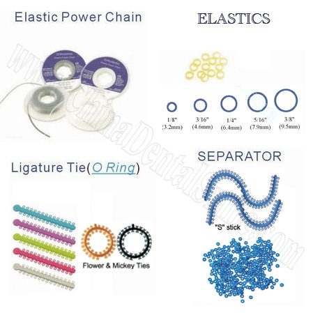 Ligature Tie, Power Chain&Separator