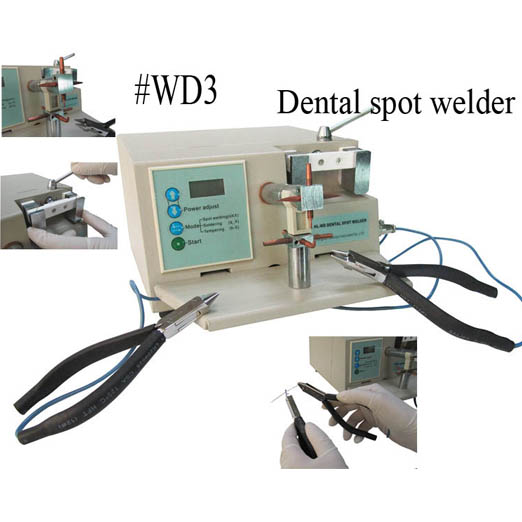 Dental Spot Welder with two clamps