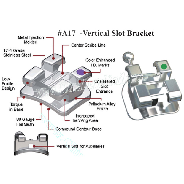 Bracket with vertical Slot